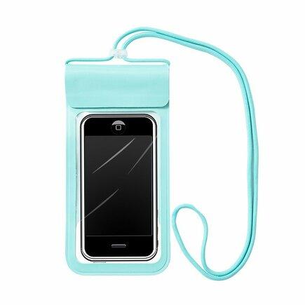 Univerzální voděodolné pouzdro na telefon (max 6,6'') zelené