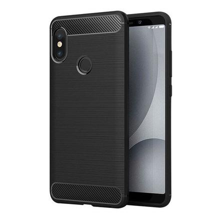 Carbon Case elastické pouzdro Xiaomi Redmi Note 5 (dual camera) / Redmi Note 5 Pro černé