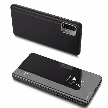 Clear View Case pouzdro s klapkou Xiaomi Poco M3 / Xiaomi Redmi 9T černé