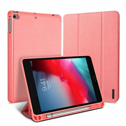 Domo skládané pouzdro na tablet s funkcí Smart Sleep podstavec iPad mini 2019 růžové
