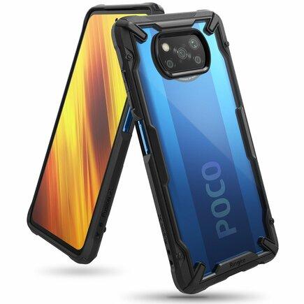 Fusion X pancéřové pouzdro s rámem Xiaomi Poco X3 NFC černé (FXXI0027)
