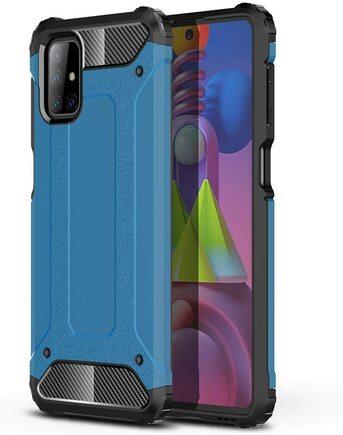 Hybrid Armor pancéřové hybridní pouzdro Samsung Galaxy M51 modré