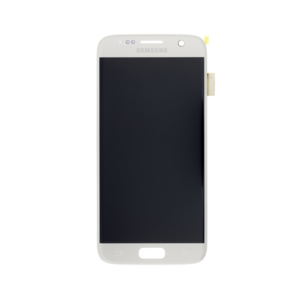 LCD display + Dotyk pro Samsung G930 Galaxy S7 Silver (Service Pack)