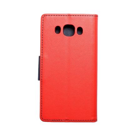 Pouzdro Fancy Book Samsung Galaxy J5 2016 červené/tmavě modré