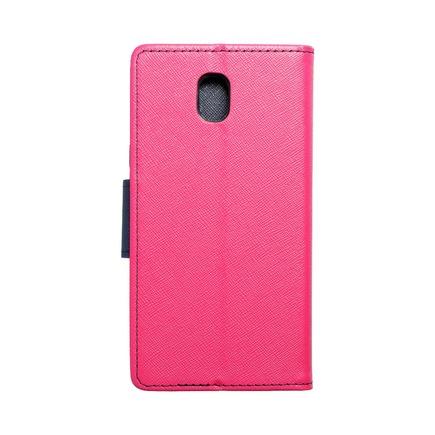 Pouzdro Fancy Book Samsung Galaxy J5 2017 růžové/tmavě modré