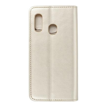 Pouzdro Magnet Book Samsung Galaxy A20E zlaté