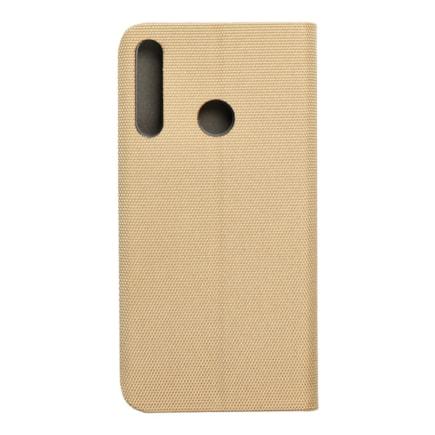 Pouzdro Sensitive Book Huawei P40 Lite E zlaté