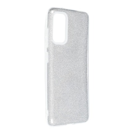 Pouzdro Shining Samsung Galaxy S20 / S11e stříbrné