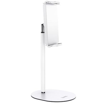 """Stolní držák HOCO pro tablet nebo telefon nastavitelný Excelence PH31 ( 4,7"""" - 10"""" ) bílý"""