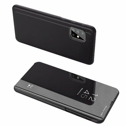 Clear View Case pouzdro s klapkou Samsung Galaxy A71 5G černé