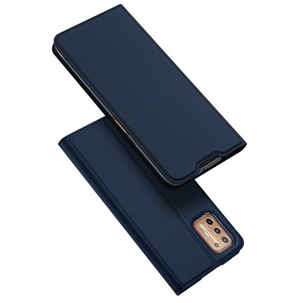 DUX DUCIS Skin Pro pouzdro s klapkou Motorola Moto G9 Plus modré