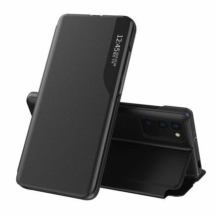 Eco Leather View Case elegantní pouzdro s klapkou a funkcí podstavce Xiaomi Poco M3 / Xiaomi Redmi 9T černé