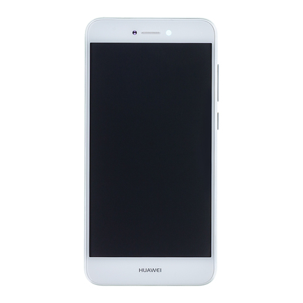 P9 Lite 2017 LCD Display + Dotyková Deska + Přední Kryt bílý (Service Pack)