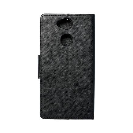 Pouzdro Fancy Book Sony Xperia XA2 černé