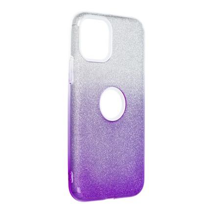 Pouzdro Shining iPhone 11 Pro průsvitné/fialové