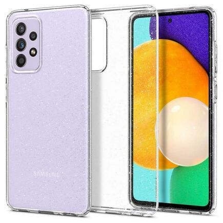 Spigen Pouzdro Liquid Crystal Samsung Galaxy A52 LTE / 5G Glitter průsvitné