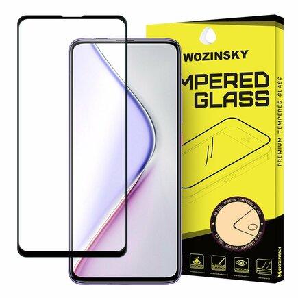 Super odolné tvrzené sklo Full Glue na celý displej s rámem Case Friendly Xiaomi Redmi K30 Pro / Poco F2 Pro černé