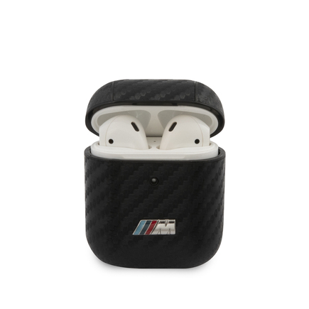 BMA2CMPUCA BMW M Carbon pouzdro pro AirPods 1/2 Black