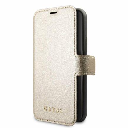 Iridescent Book Pouzdro pro iPhone 11 Pro zlaté (EU Blister)