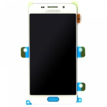 LCD display + Dotyk bílý pro Samsung A310 Galaxy A3 2016 White (Service Pack)