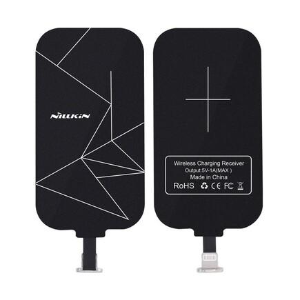 Magic Tags QI indukční vložka s konektorem Lightning délka 9,8 cm černá