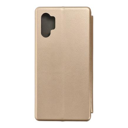 Pouzdro Book Elegance Samsung Note 10 Plus zlaté