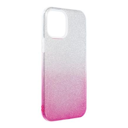 Pouzdro Forcell Shining iPhone 13 Pro Max průsvitné/růžové