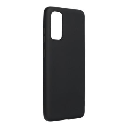 Pouzdro Silicone Lite Samsung Galaxy A41 černé