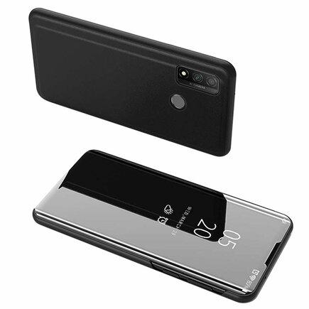 Clear View Case pouzdro s klapkou Huawei P Smart 2020 černé