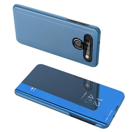 Clear View Case pouzdro s klapkou LG K61 modré