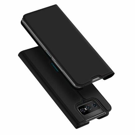 DUX DUCIS Skin Pro pouzdro s klapkou Asus Zenfone 7 Pro černé