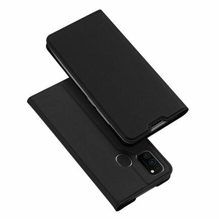 DUX DUCIS Skin Pro pouzdro s klapkou Samsung Galaxy M30s černé