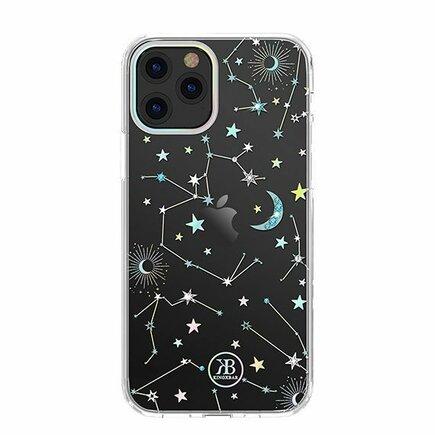 Lucky Series pouzdro zdobené originálními krystalky Swarovski iPhone 12 Mini průsvitné (Zodiac)