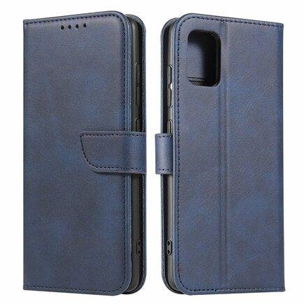Magnet Case elegantní pouzdro s klapkou a funkcí podstavce Samsung Galaxy A51 5G modré