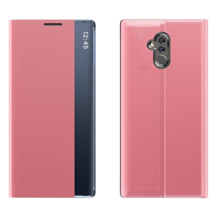 New Sleep Case pouzdro s klapkou s funkcí podstavce Huawei Mate 20 Lite růžové