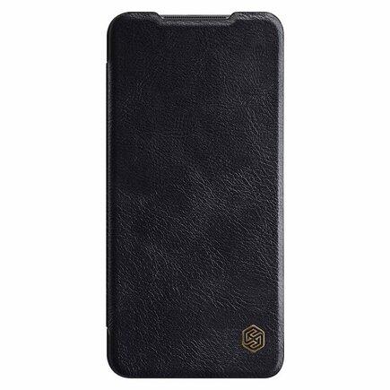 Nillkin Qin kožené pouzdro Xiaomi Redmi 10X 4G / Xiaomi Redmi Note 9 černé