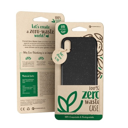Pouzdro Forcell BIO Zero Waste Case iPhone XS Max černé