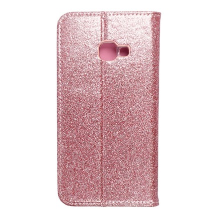 Pouzdro Forcell Shining Book Samsung Xcover 4 růžově-zlaté