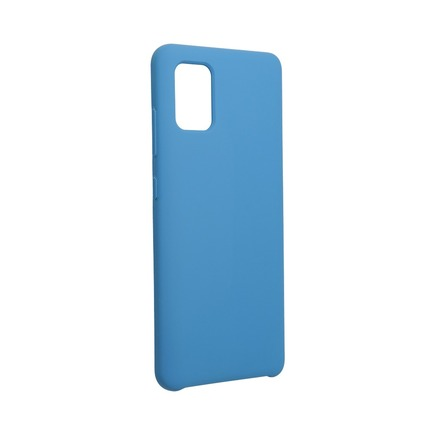 Pouzdro Forcell Silicone Samsung Galaxy A52 5G / A52 LTE ( 4G ) modré
