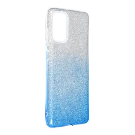 Pouzdro Shining Samsung Galaxy S20 Plus / S11 průsvitné/modré