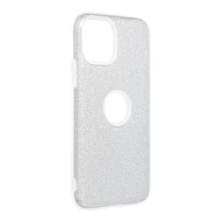 Pouzdro Shining iPhone 11 Pro stříbrné