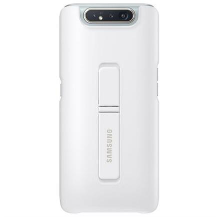 Standing Pouzdro bílé pro Galaxy A80 (EU Blister)