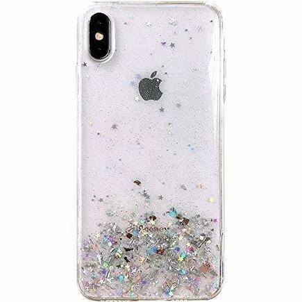 Star Glitter lesklé pouzdro s brokátem Samsung Galaxy M30s / Galaxy M21 průsvitné