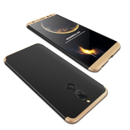360 Protection pouzdro na přední i zadní část telefonu Huawei Mate 10 Lite černé
