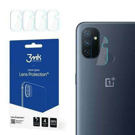 3MK Lens Protect OnePlus Nord N100 Ochrana na objektiv kamery 4 ks