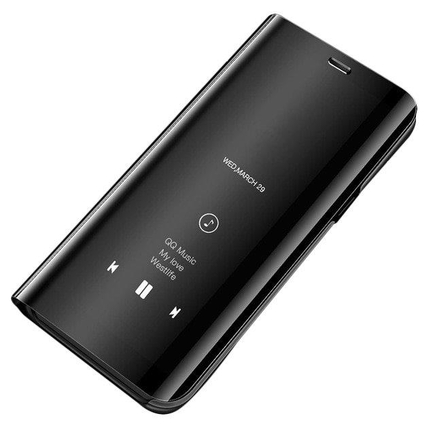 Clear View Case pouzdro s klapkou Samsung Galaxy S10 černé