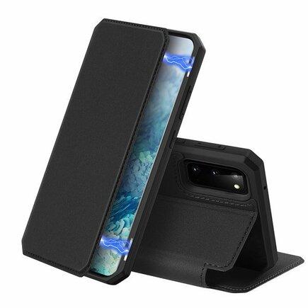 DUX DUCIS Skin X pouzdro s klapkou Samsung Galaxy S20 černé
