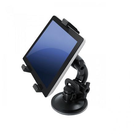 """Držák do auta na tablet 7""""-10"""" univerzální 2v1 (na sklo/záhlaví, model : AX-01)"""