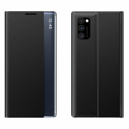 New Sleep Case pouzdro s klapkou s funkcí podstavce Samsung Galaxy M31s černé
