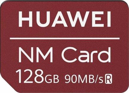 Originální Nano Paměťová Karta červená 128GB (EU Blister)